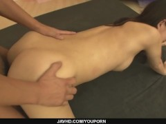 Picture Cute Asian Cougar Manami Komukai threesome a...