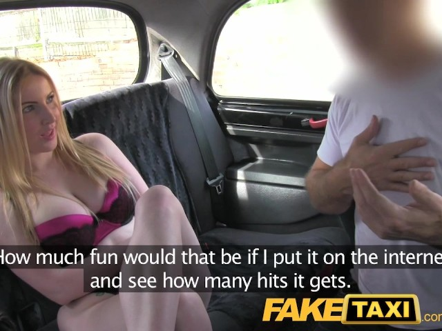 Fake Taxi Blonde Mature