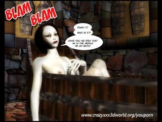 3D Comic: Red Hood. Episode 1-