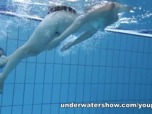 swimming pool nude