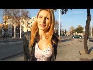 Sexy Claudia Shotz receives one big Facial after Hard Sex