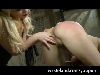 Femdom Spanks And Brings Her Female Submissive To Orgasms