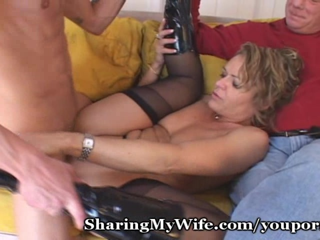 Mature Rides Young Cock