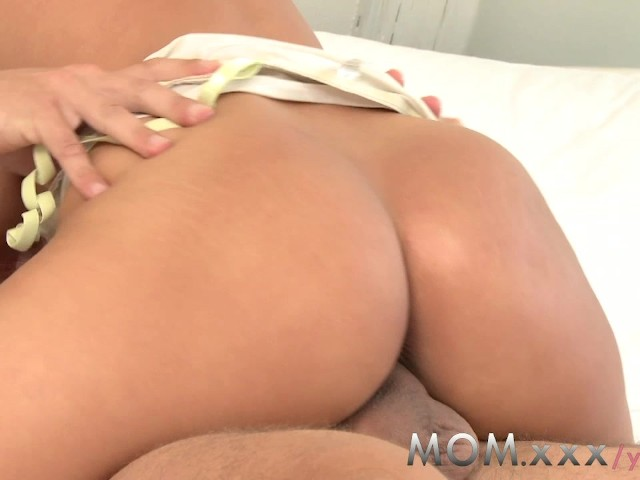 Brunette Milf Riding Homemade