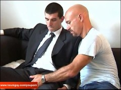 Picture Hey what are you doing to my huge cock? I m...