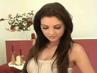 Monica D teases with her dildo