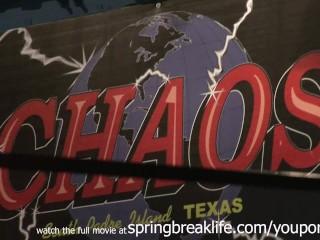 Upskirt Teens Spring Break Clubbing