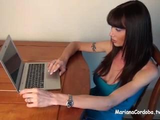 Mariana Cordoba my slave in Montevideo