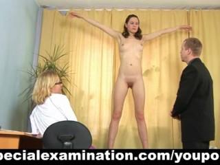 Fetish/tests girl medical for special