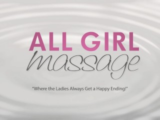 All Girl Massage Squirting Lesbians on Valentines Day
