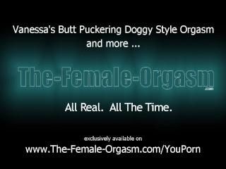 Cute Euro Teen Masturbates Doggy Style To A Butt Puckering Orgasm