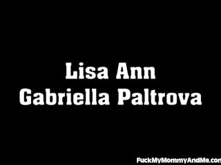 Lisa Ann And Her Virgin Step-daughter Share Loads Of Cum