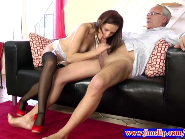 Teen Amateur In Stockings Fucked By Old Man - Free Porn -9448