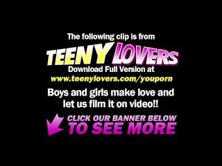Teeny Lovers - Cunni makes a teeny wanna fuck