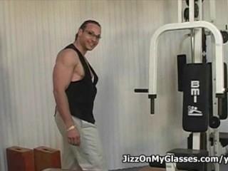 Black cock sucker Eroca Kane deepthroats huge cock for a Jizz on Glasses