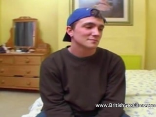 Teen auditions for porn while boyfriend watches