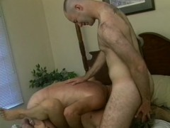Picture Muscular threesome having fun - Iron Horse