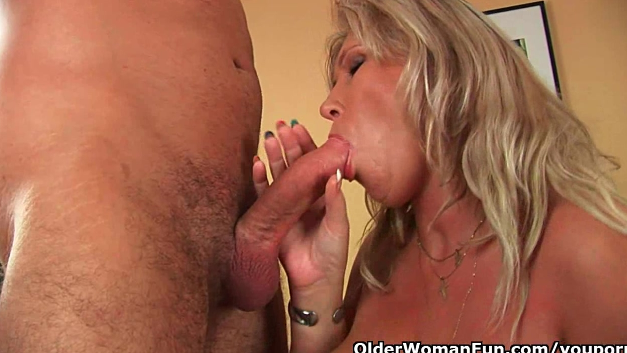 Busty blonde slut gets ass fucked hard
