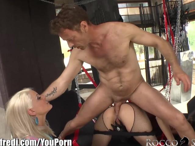 Rocco Siffredi Threesome Anal
