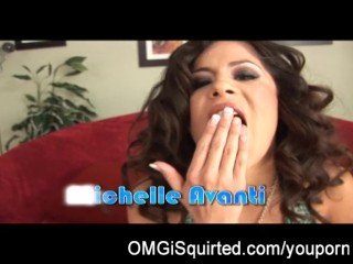 Michelle Avanti is a squirting party girl