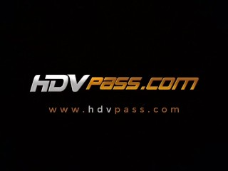 HDVPass Hot Blonde Teen Kodi Gamble Rides Cock Until Getting a Messy Facial