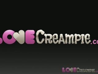 Creampie/internal/teen after massage inside perfect