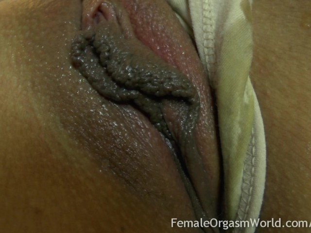 First Time Amateur Masturbates Her Big Pussy Lips to Orgasm ...