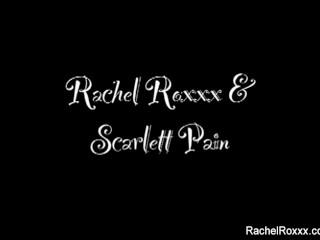 Rachel Roxxx Fucks Scarlett Pain