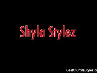 Shyla Stylez Sucks and Fucks a Big Black Cock