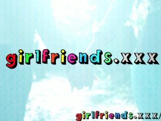 Girlfriends meet while shopping amazing natural big tits amateur lesbian video
