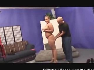 Cock Sucking Chunky Ebony BBW Babe Fucked
