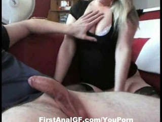 Horny Housewife get her ass fucked hard