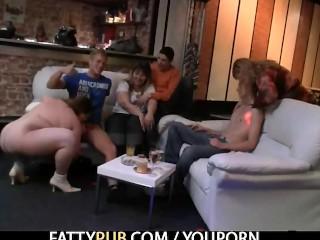 Naughty BBW enjoys sucking and fucking