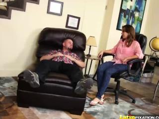 LatinFixation Chrissy Nova shows off her natural tits before fucking