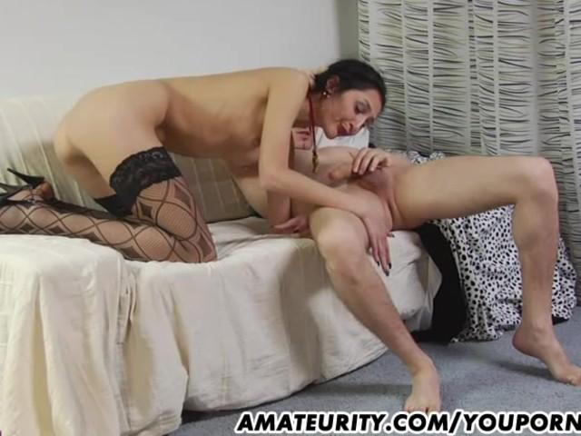 Amateur woman fucking huge cock