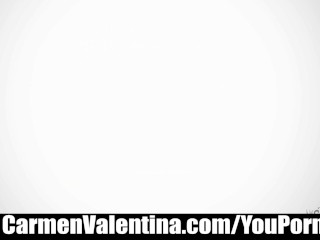 Carmen Valentina sweet pussy tease and please