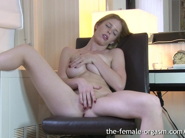 Sensual Female Solo Orgasm