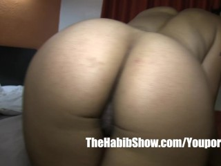 mixed black yella boned lady queen banged her tight pussy