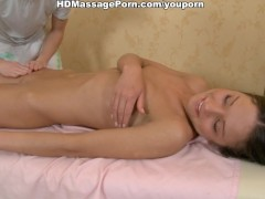 Picture Sexy hottie banged on massage table