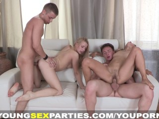 Young Sex Parties – Fantastic sex party doubles