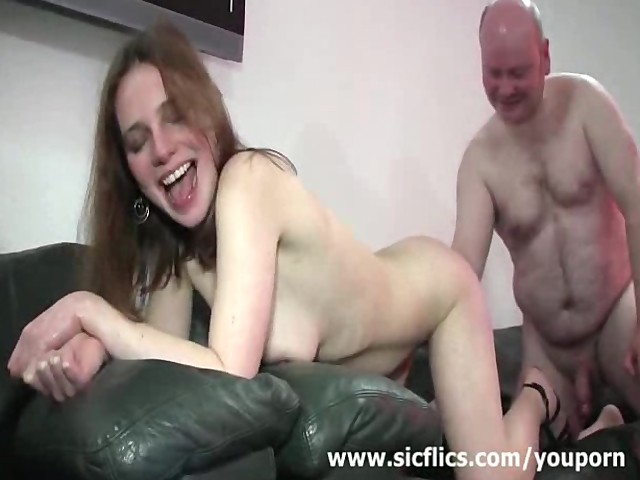 Shocking Skinny Teen Fist Fucked By A Fat Old Pervert -8451