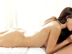 Picture Nubile Films - Erotic massage leads to messy...