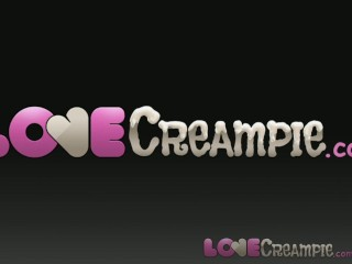 Love Creampie Intense big tits babe has multiple orgasms and internal cum