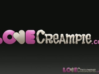 Love Creampie Amateur casting girls take a fat cock and pussy full of cum