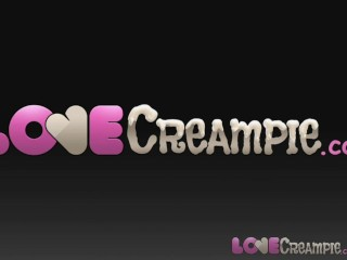 Love Creampie Plump POV girl rides your cock till you cum inside her