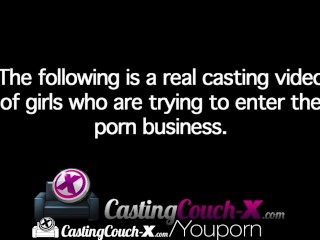 CastingCouch-X Russian girls does anal to open her career to the U.S.