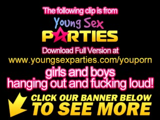 Young Sex Parties - Bedroom party with sex competition