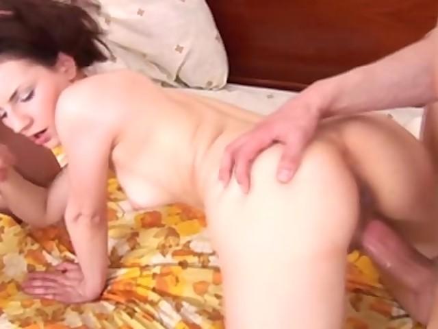 Black Cock Anal Teen Threesome