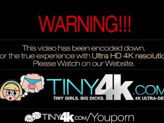 4K HD - Tiny4K Petite girl enjoys her cock with a cherry on top