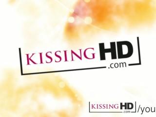 Kissing HD Glamorous women in high heels doing sensual tongue sucking
